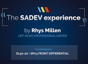 [The SADEV Experience] by Rhys Millen – Professional Driver